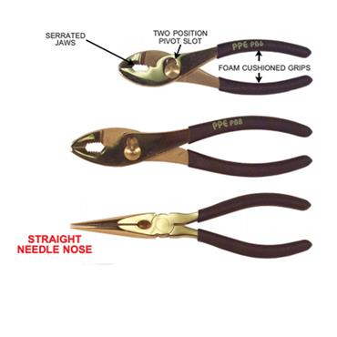 PPE Solid Brass Pliers