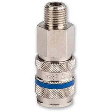 """RECTUSSeries 21 Quick Release 1/4"""" B.S.P Male Thread Coupling"""