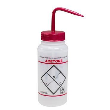 SCIENCEWARE  Safety Labelled 500ml Wash Bottles
