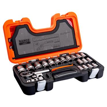 "Bahco S240 24 Piece Metric 1/2"" Drive Socket Set"