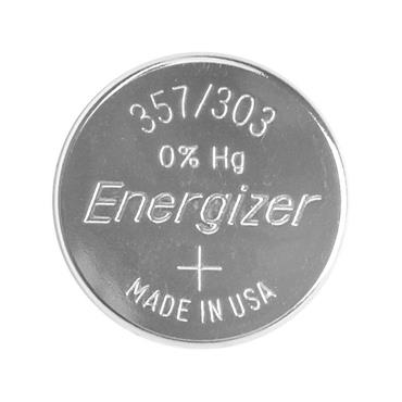 Energizer 357 Silver Oxide 1.5 Volt Coin Battery