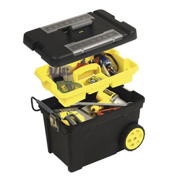 Stanley 1-92-902 Professional Mobile Tool Box Chest on Wheels