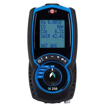 KANE 258 Flue Gas Analyser with direct CO, O2 & CO sensor protection Kit