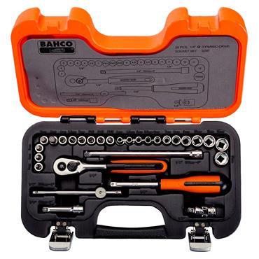 "Bahco S290 29 Piece 1/4"" Drive Socket Set"