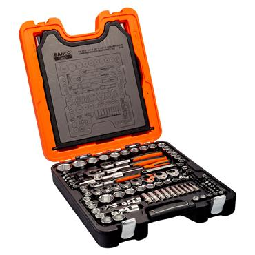 Bahco S138 138 Piece Metric/Imperial Drive Socket Set