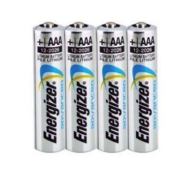 ENERGIZER  L92ENES4 Lithium AAA  Batteries, Pack of 4