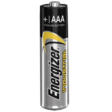 ENERGIZER 70168700 Alkaline Industrial AAA Batteries, 4 Pack
