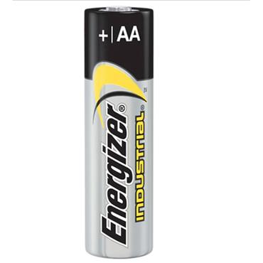 ENERGIZER 70191900 Alkaline Industrial AA Batteries, 4 pack
