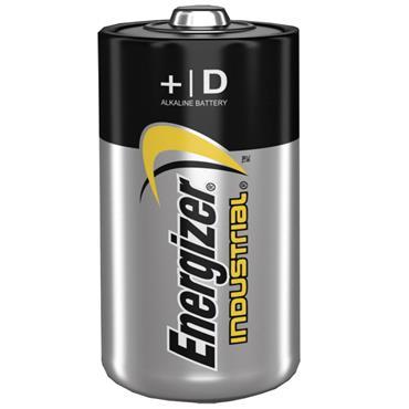 ENERGIZER 70192200 Alkaline Industrial D / LR20 Batteries, 12 Pack