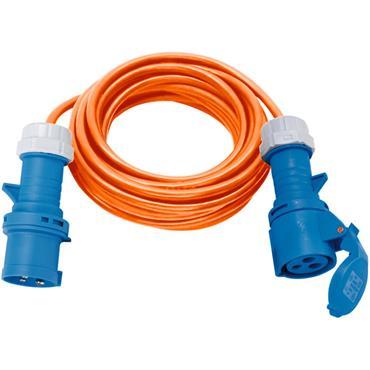 BRENNENSTUHL 1167650610  CEE Extension Cable 230V IP44 for Camping/Maritim 10m H07RN-F 3G2.5, Orange