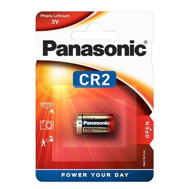 PANASONIC CR2 3V Cylindrical Lithium
