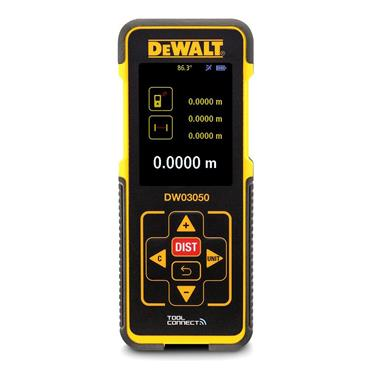 DeWALT DW03050-XJ 50m Bluetooth Laser Distance Measurer
