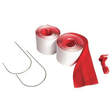 Zipwall Surface Shields Zip N Close Peel and Stick Wall Zipper