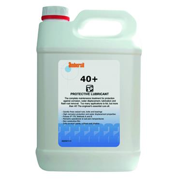 Ambersil 40+ 5litre Multi-Purpose Industrial Protective Lubricant