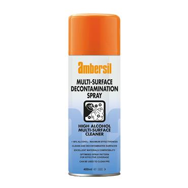 Ambersil Multi-Surface Industrial Alcohol Decontamination Spray  400ml