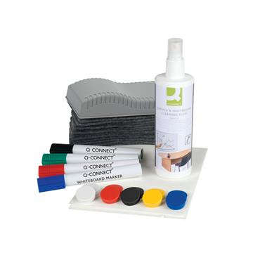 Q-Connect KF32153 Whiteboard Starter Kit