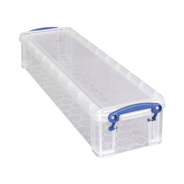 Citec RUP80254 Really Useful Clear 1.5 Litre Pencil/Stationery Box 1.5C