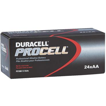 DURACELL 800752 ProCell Alkaline AA Batteries, Pack of 24