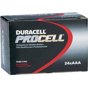 DURACELL 800761 ProCell Alkaline AAA Batteries, Pack of 24