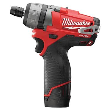 Milwaukee M12CD-202C 12 Volt M12 Fuel Compact 2-Speed Driver, 2 x 2.0Ah Batteries