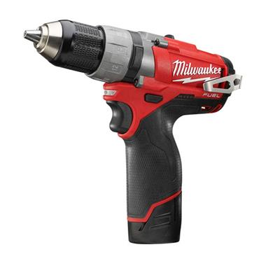Milwaukee M12CDD-202C 12 Volt Cordless Drill Driver, 2 x 2.0Ah Batteries