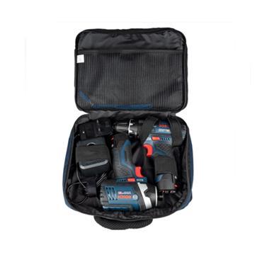 Bosch 06019A6979 GSB 12V-15 Combi Drill & GDR 12V-105 Impact Driver  Twin Kit, 2 x 2.0Ah Batteries