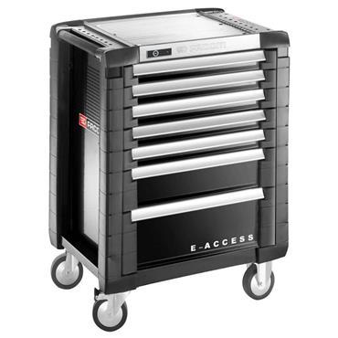 Facom JET.7GM3EACC 7-Drawer Black E-Access Jet Plus Roller Cabinet