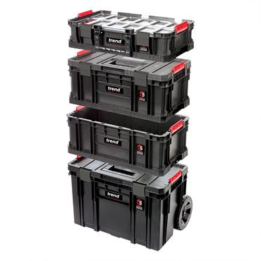 Trend MS/C/SET4C Modular Storage Compact Cart Set