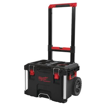Milwaukee 560 x 410 x 480mm Packout Rolling Trolley Tool Box - 4932464078