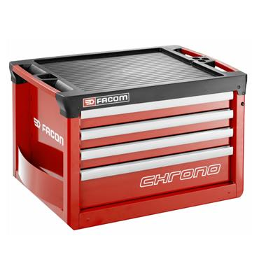 Facom CHRONO.C4M3A 4 Drawer Top Chest Red