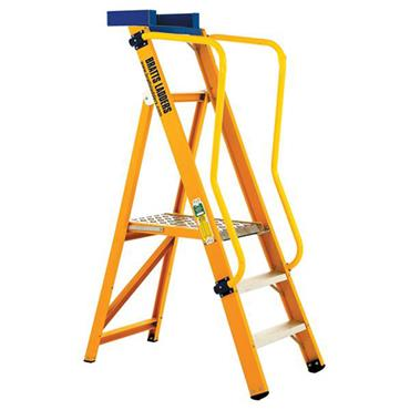 Bratts Ladders XPLT Glass Fibre Platform Step Ladders