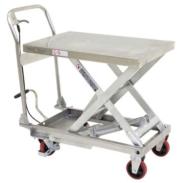 Citec 250kg Capacity Stainless Steel Mobile Lift Table