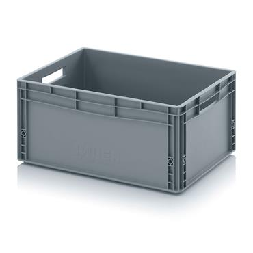 Auer Packaging EG64/27 Euro Container with Open Handles 600 x 400 x 270mm