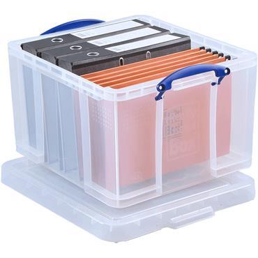 Really Useful 42 Litre Plastic Storage Box,520 x 440 x 310mm (W x D x H)
