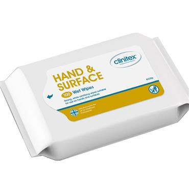 Clinitex R320p Hand and Surface Wipes