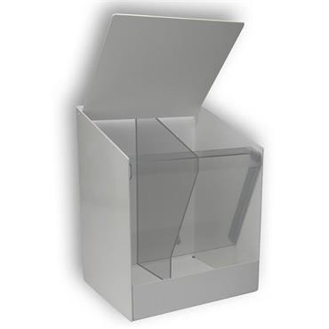 QUICK GE/MPD  PVC Multi-Purpose Dispenser, White
