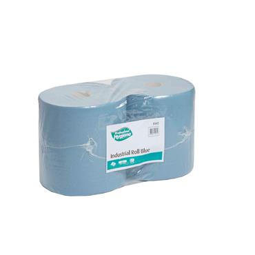Citec F042 Industrial Roll 2 Ply Blue,400m x 27cm, 2 per case