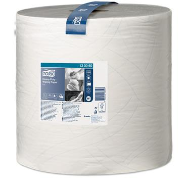 Tork 130060 White  Heavy-Duty Wiping Paper