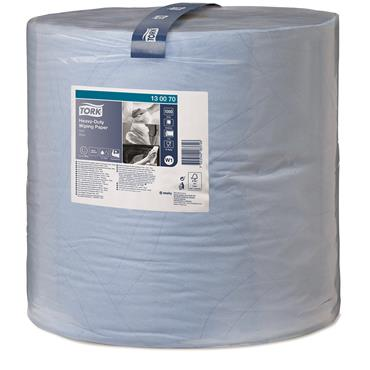 Tork 130070 Blue Heavy-Duty Wiping Paper