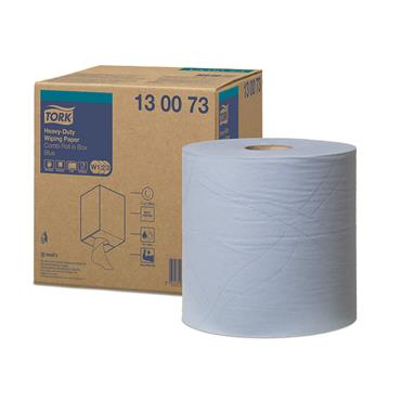 Tork 130073 Blue Heavy-Duty Wiping Paper