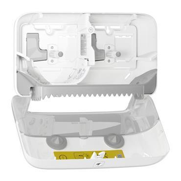 TORK 558040 Coreless Mid-size Toilet Roll Dispenser White