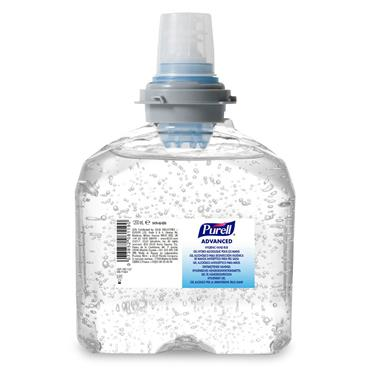PURELL 5476-02 1200ml TFX Touch Free Gel Refill Pack of 2