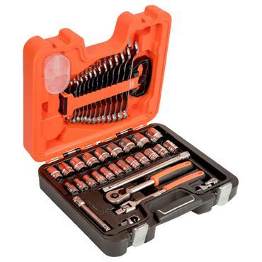 "Bahco S400 40 Piece Metric 1/2"" Drive Socket Set"