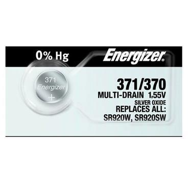 ENERGIZER 371/370 1.5 Volt Watch Battery