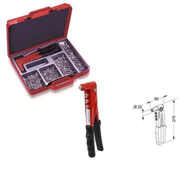LOBSTER TOOLS Hand Riveter Kit