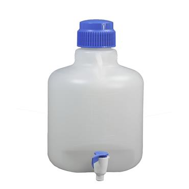 SCIENCEWARE Autoclavable Polypropylene Carboys with spigot