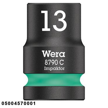 "Wera 8790 C Metric Zyklop 1/2"" Drive Impaktor Socket"