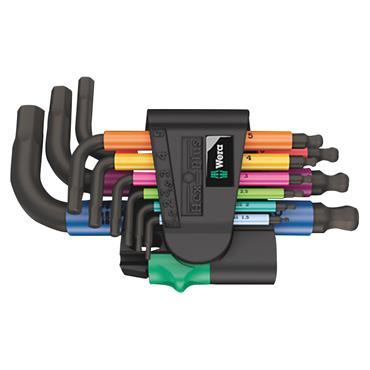 Wera 133164 9 Piece Hex-Plus Multicolour Metric L-Key Set
