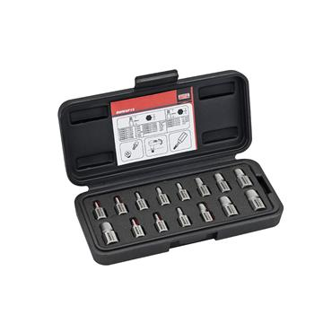 Bahco BWMSP15 Multi Spline Extractors Set - 15 Piece Set