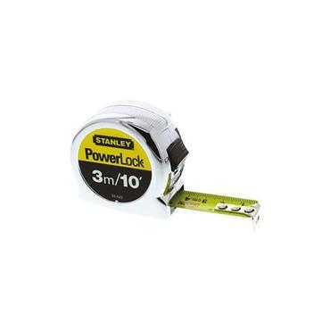 Stanley 0-33-523 Metric/Imperial Micro Powerlock Tape Measure 3m / 10ft